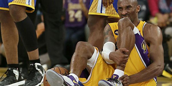 Kobe machucado