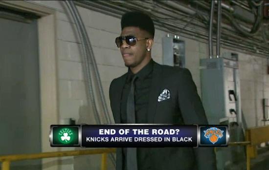 Knicks all black