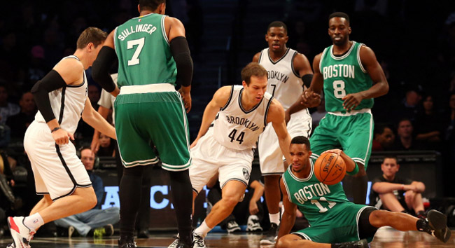 NBA: Preseason-Boston Celtics at Brooklyn Nets