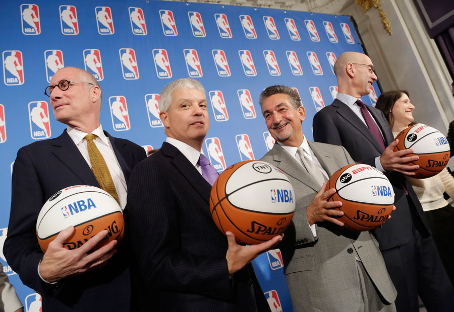 O novo dinheiro da NBA