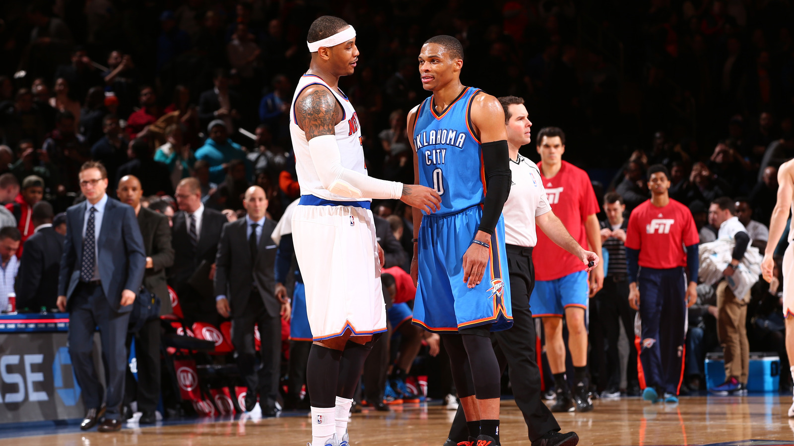 OKC Thunder fisga Carmelo Anthony