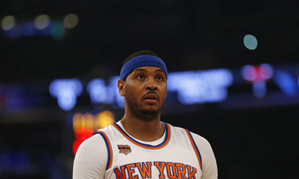 🔒 A carcaça vazia de Carmelo Anthony
